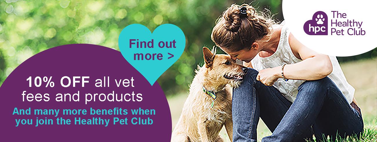 The Healthy Pet Club advert