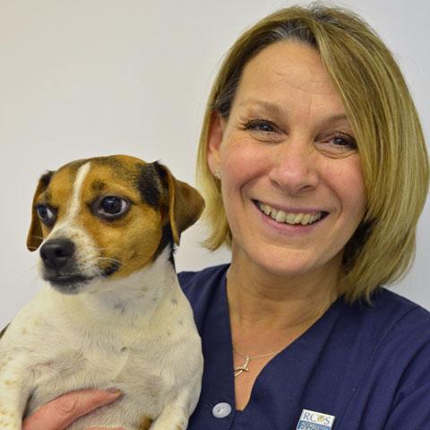 Joyce Durban, senior receptionist at Highcroft Veterinary Group