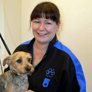 Leonora Garrett, dog groomer at Highcroft Veterinary Group