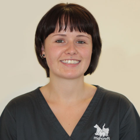 Emily Brown, kennel assistant at Highcroft Veterinary Group