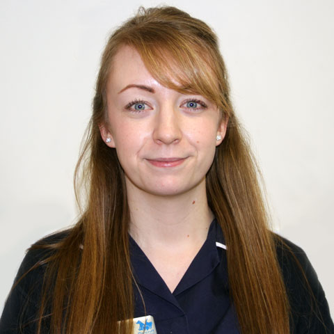 Lisa Baker, head receptionist at Highcroft Veterinary Group